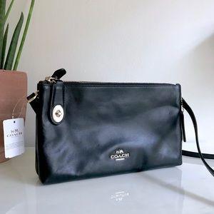 Handbags - Coach Crosby Crossbody in Calf Leather (NWT)